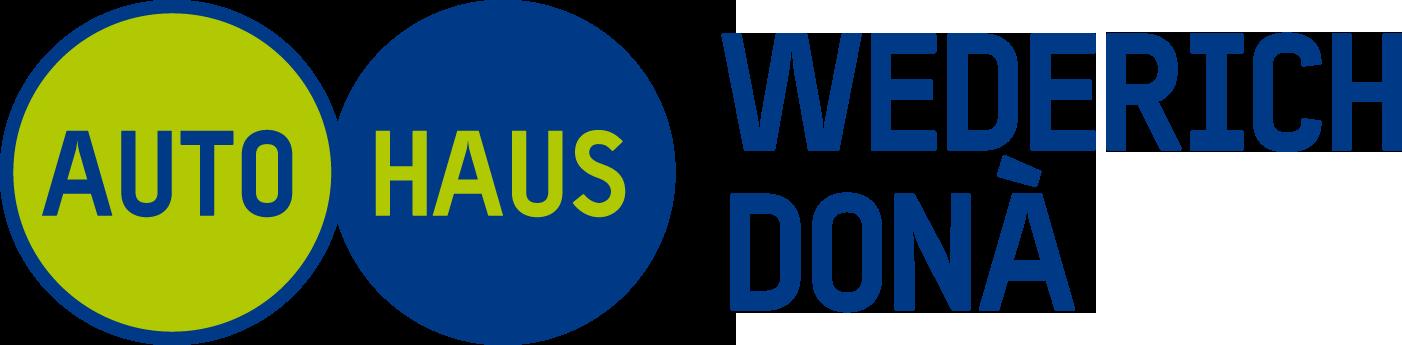 Logo Autohaus Wederich, Donà AG